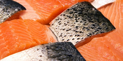 Canadian farmed salmon